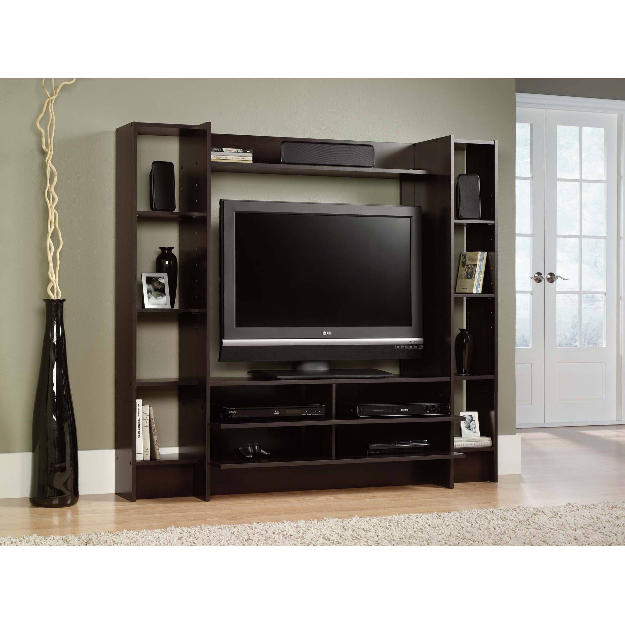 Tv Stands Entertainment Centers Walmart pertaining to tv stand wooden  furniture intended for Home
