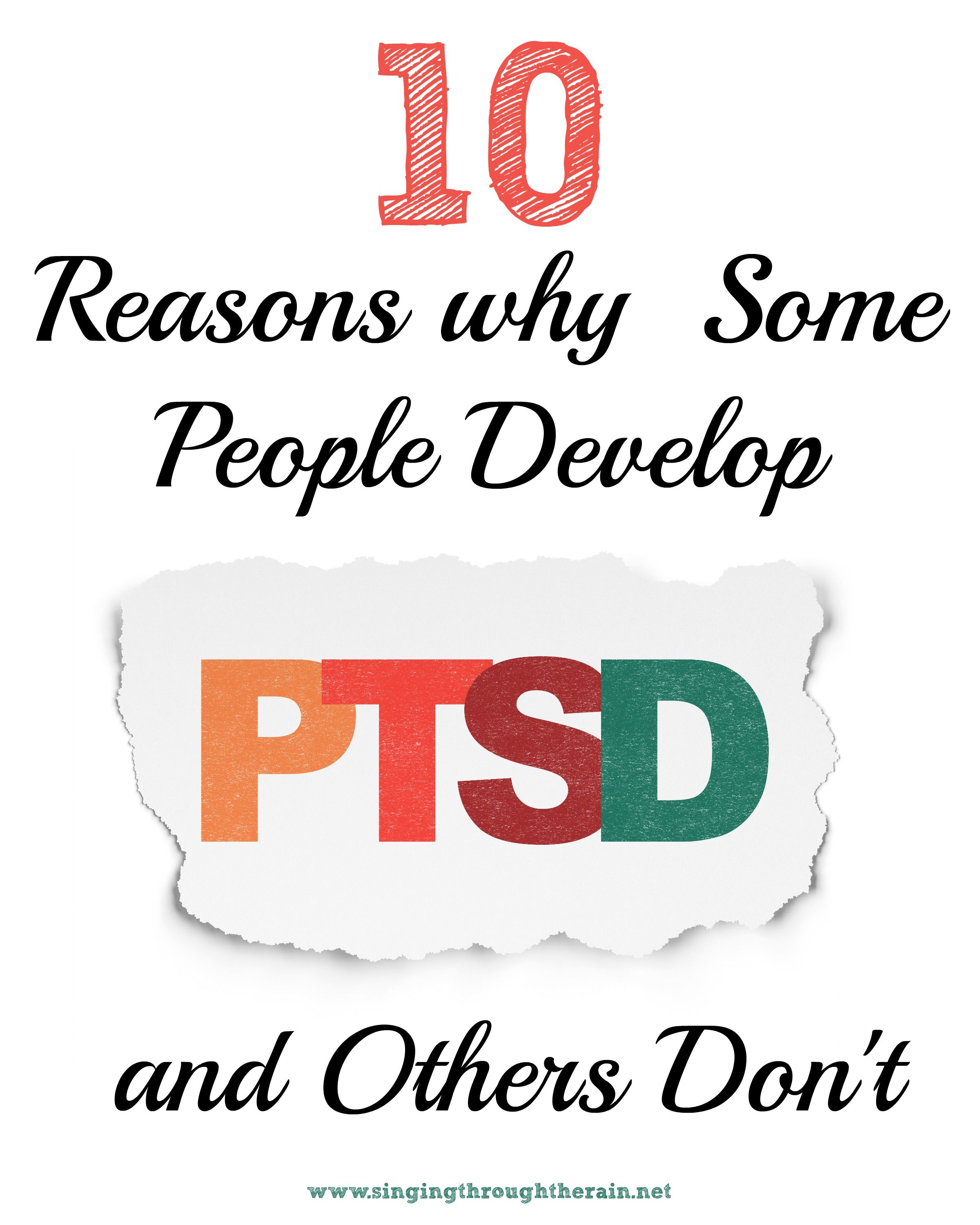Why Are Some Plants Rare Look To Their Ability To Adapt: 10 Reasons Why Some People Develop PTSD And Others Don't