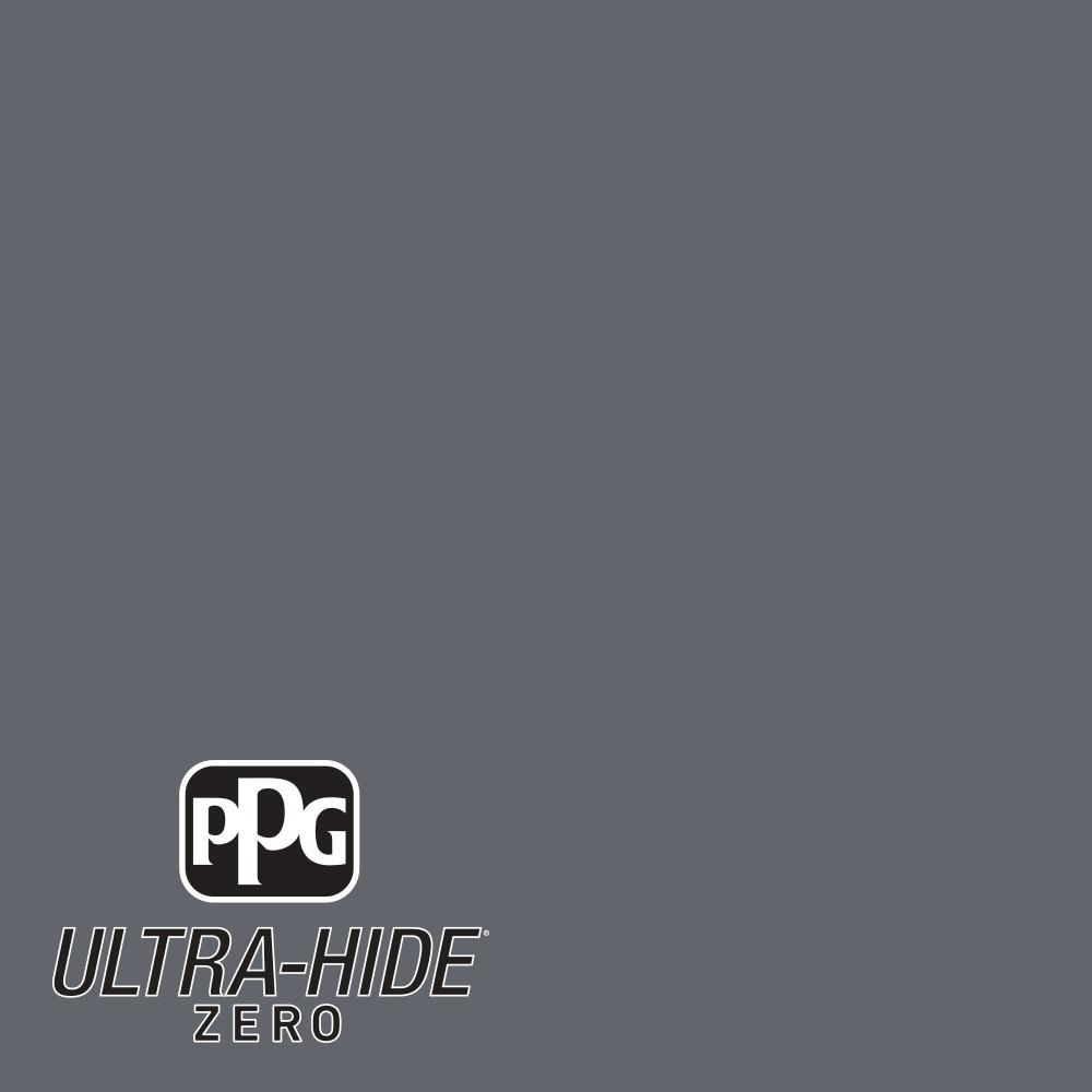 Ppg 1 Gal Hdpcn39d Ultra Hide Zero Dark Grey Silk Semi Gloss Interior Paint Hdpcn39dz 01sg Interior Paint Grey Interior Paint Ppg