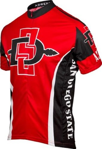 518c5f6a662 Ncaa Men s Adrenaline Promotions San Diego State Aztecs Cycling Jersey