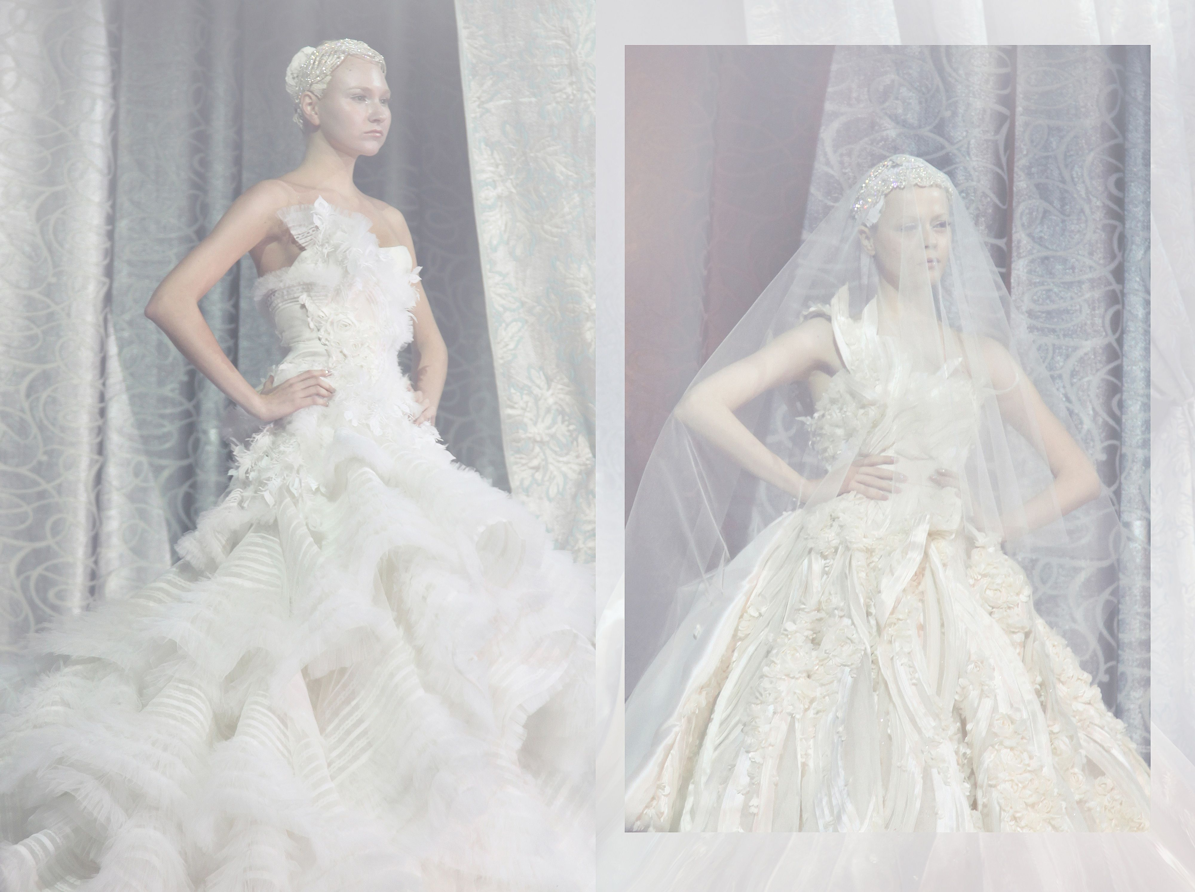 The hunger games catching fire katniss wedding dress designer - Tex Saverio Bridal Gown This Is The Runway Version Of Katniss Capitol Couture Dress