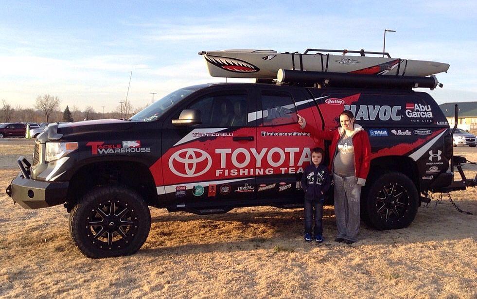 Mike Iconelli Angler, Toyota, Trucks