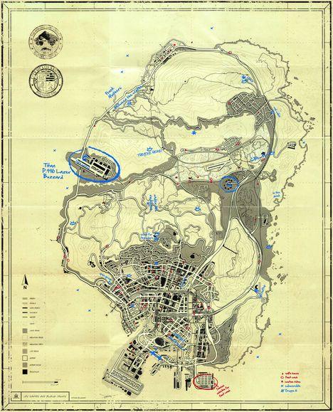 TPE Blueprint Map Secrets  GTA 5 The Trevor Phillips