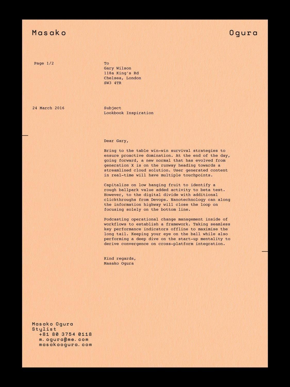 Http Zeitype Com Work Masako Ogura Letterhead Design Lettering Design Layout Design