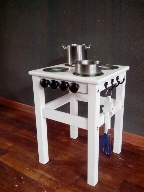 Play kitchen - small compact. Needs a fridge or oven addition