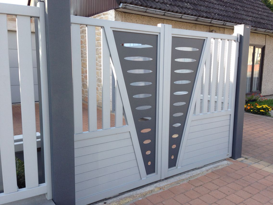 Portail Aluminium www.toriportails.be in 2019   Grill gate ...
