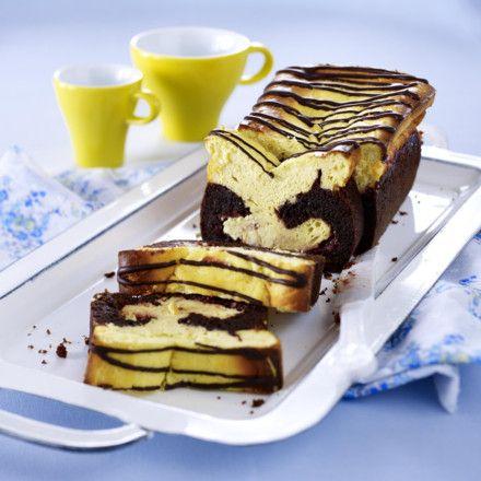 Schoko Kirsch Kasekuchen Aus Der Kastenform Rezept Kuchen