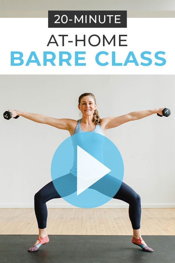 20-Minute Barre Class At Home Workout Video