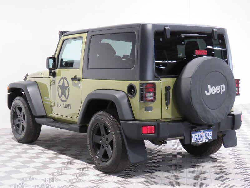 2012 Jeep Wrangler JK MY13 Sport (4x4) Beige 6 Speed
