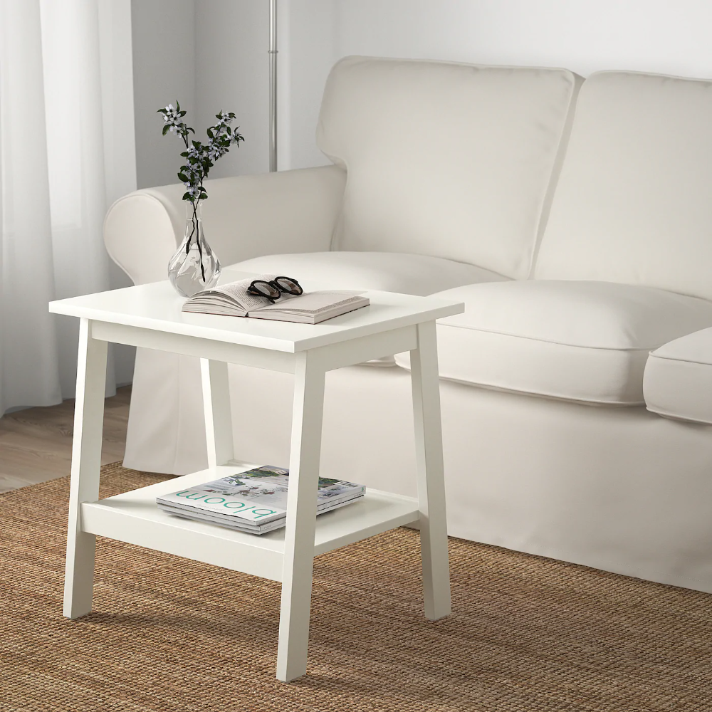 Lunnarp Side Table White 21 5 8x17 3 4 Ikea In 2020 White Side Tables Ikea White Side Table Side Table Wood #white #side #tables #living #room