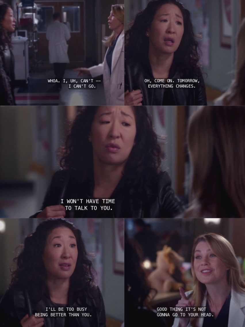 meredith and cristina friendship quotes