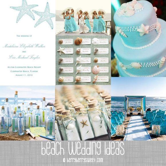 Grecian Beach Wedding Invitation Ideas