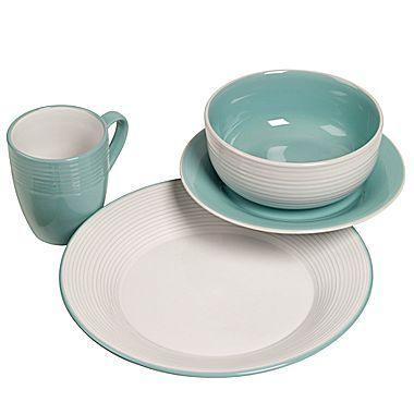 House · JCP home™ 16-pc. Colorblock Dinnerware Set - jcpenney  sc 1 st  Pinterest & JCP home™ 16-pc. Colorblock Dinnerware Set - jcpenney   lake house ...