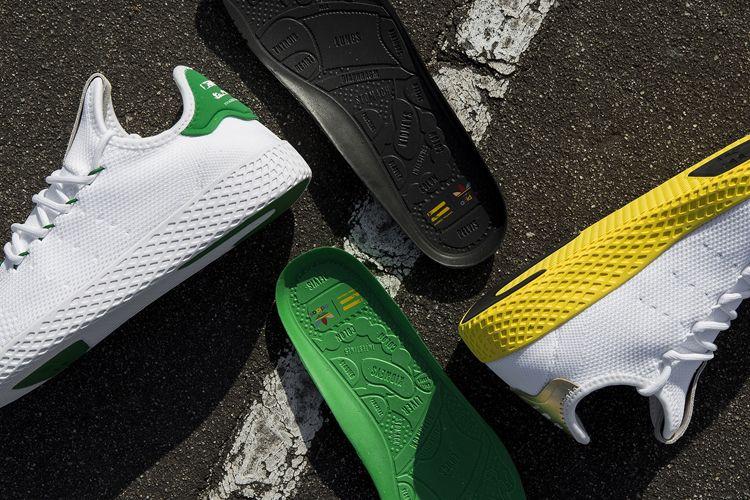 First Look at Pharrell Williams x adidas Originals Tennis Hu