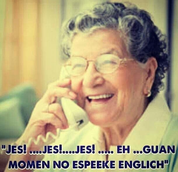 Cuban Grandma Be Like In My Case That S My Mom And My Aunts It So Funny Hear Them Speaking English B Funny Spanish Memes Funny Memes Cubans Be Like