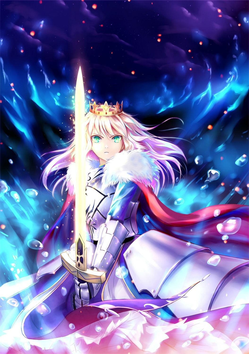 Fate Stay Night Fate Grand Order セイバー 壁紙 Tsundora Com