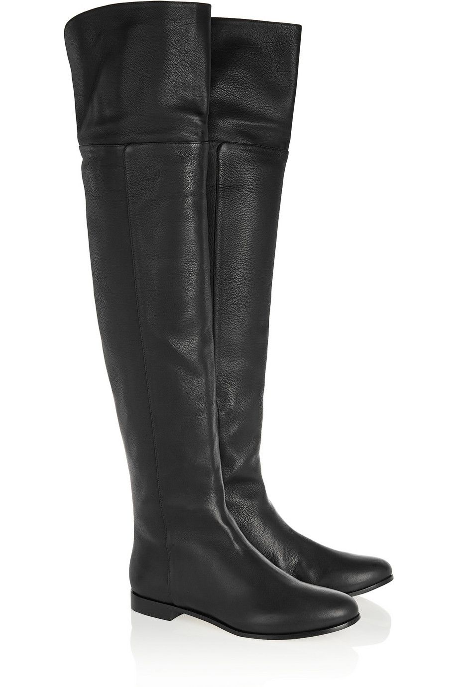 bceb3626688 Jimmy Choo Mitty textured-leather over-the-knee boots