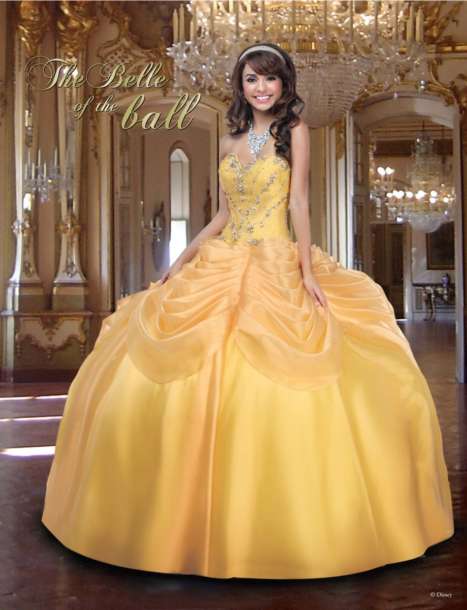 ... Gown Formal Prom Party Wedding Dresses. Vestido Inspirado en La bella y  la Bestia f7ba1100fd37