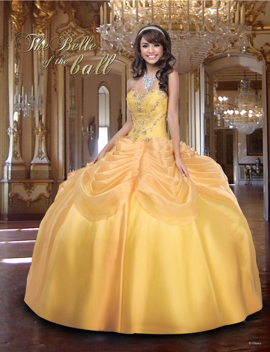 4a34f8062 Vestido Inspirado en La bella y la Bestia