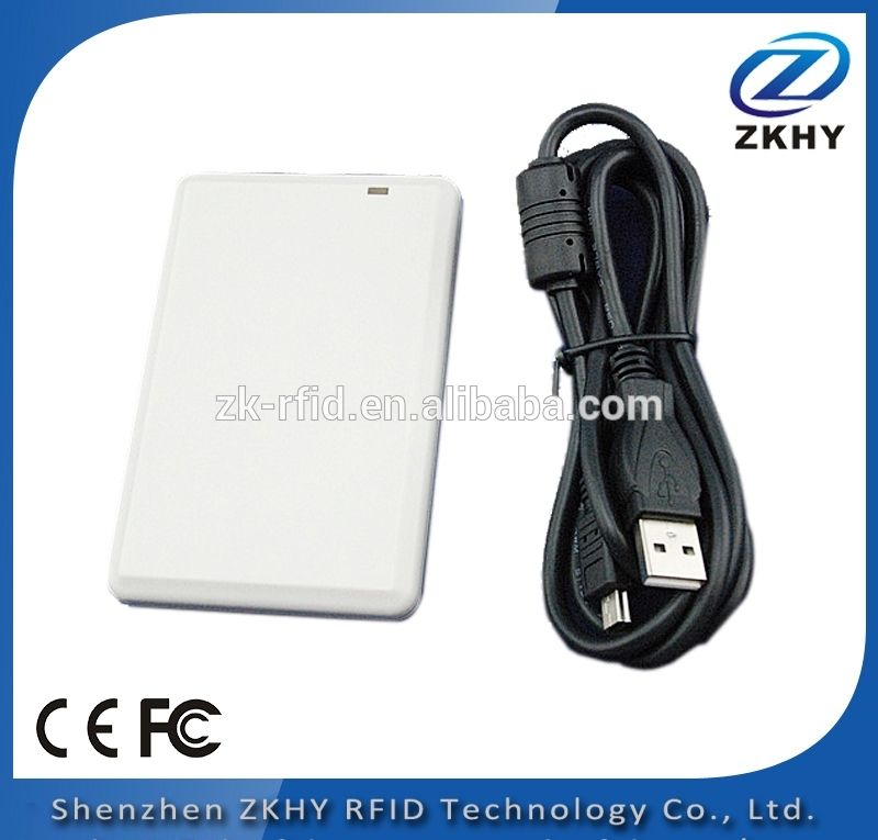 UHF USB RFID card reader with complete English SDK,demo