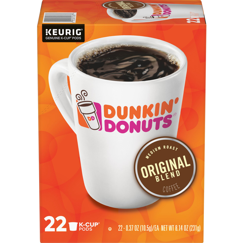 Food Dunkin donuts, Dunkin, Decaf k cups