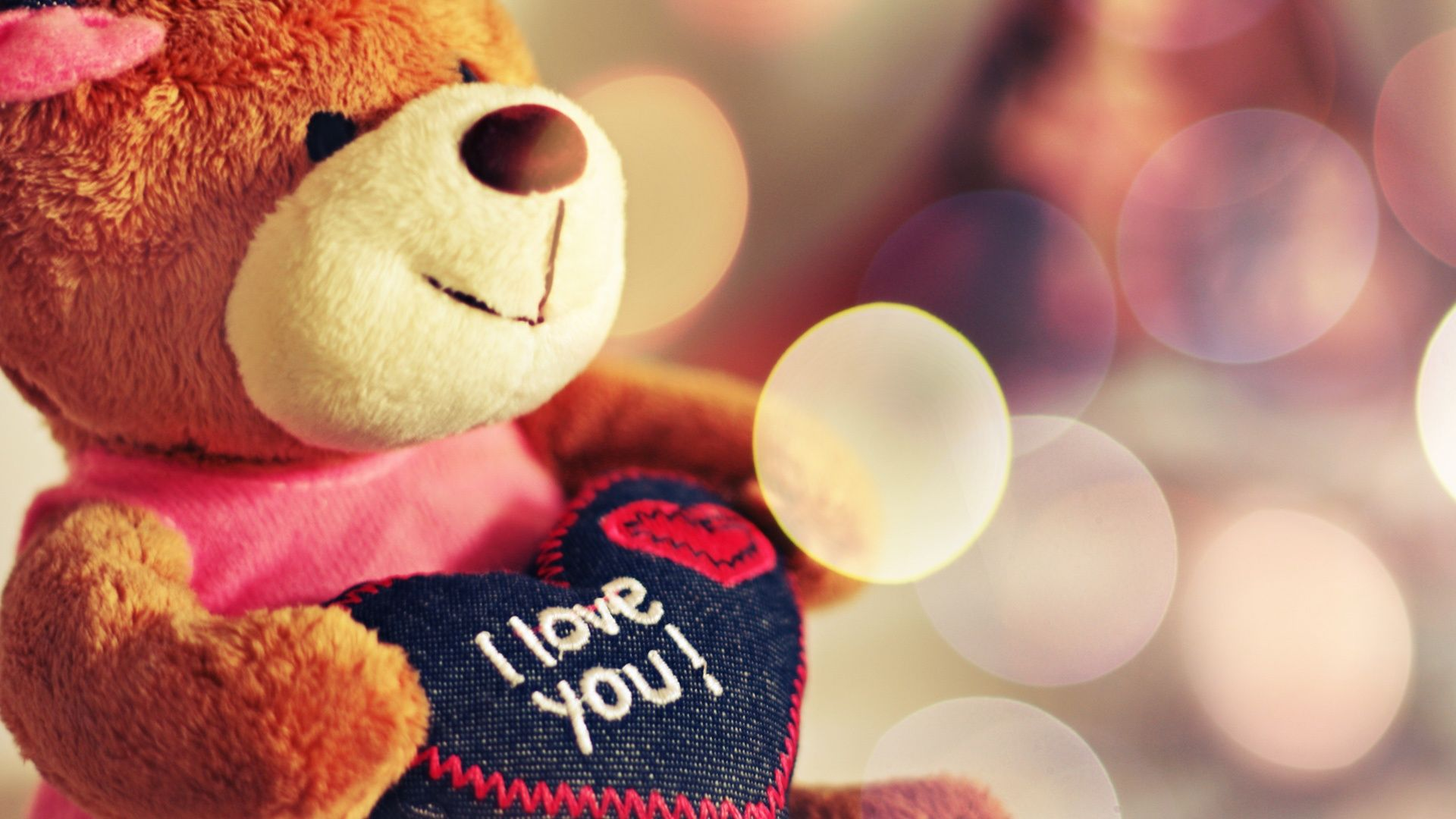 Hd wallpaper download love - Teddy Bear I Love You Hd 1080p Wallpapers Download