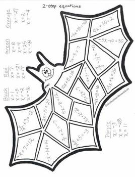 math worksheet : 1000 images about equations on pinterest  solving equations one  : Halloween Math Worksheets Middle School