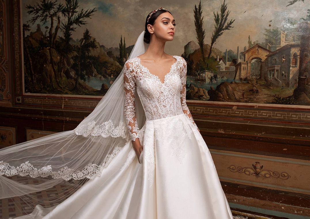 Pronovias Albion Betti B Armelhochzeitskleider Brautmode Hochzeitskleid