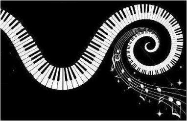 R sultat de recherche d 39 images pour touches piano dessin - Coloriage piano ...