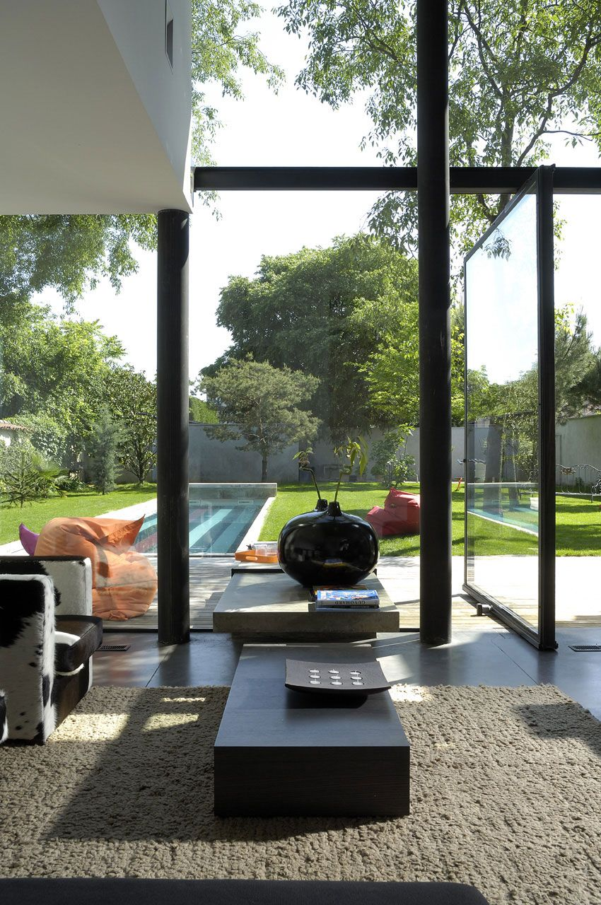 Aum minassian architectes maison biscuit 03 aum minassian for Architecte lyon maison individuelle