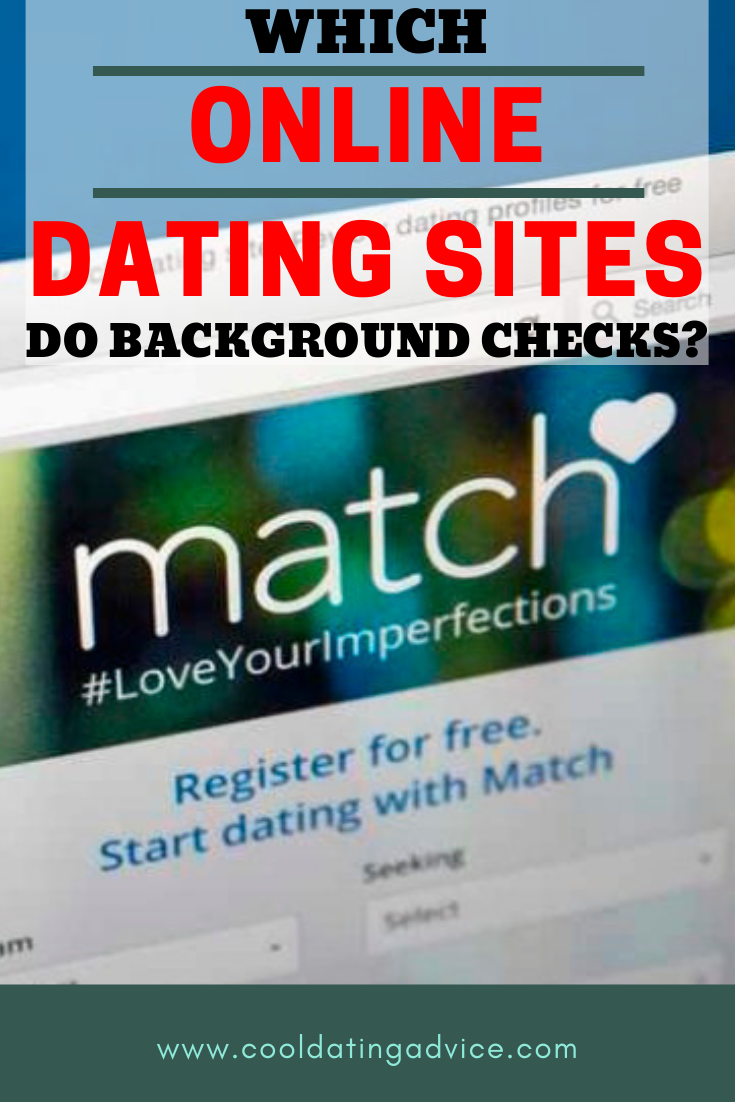 Background check dating online
