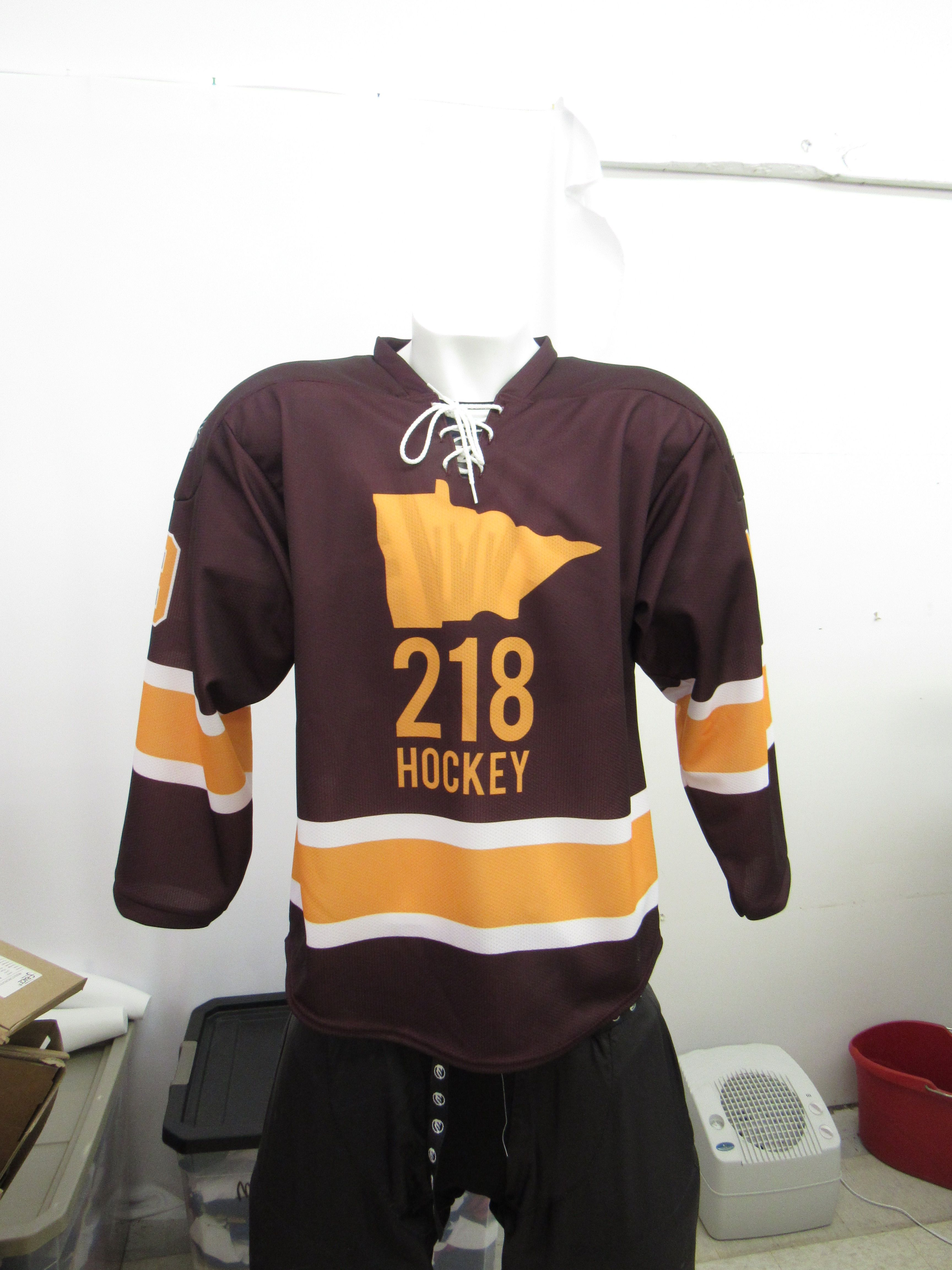 Sublimated 218 Hockey jerseys. Proudly made in Minnesota ... 25c907d8e9bc6
