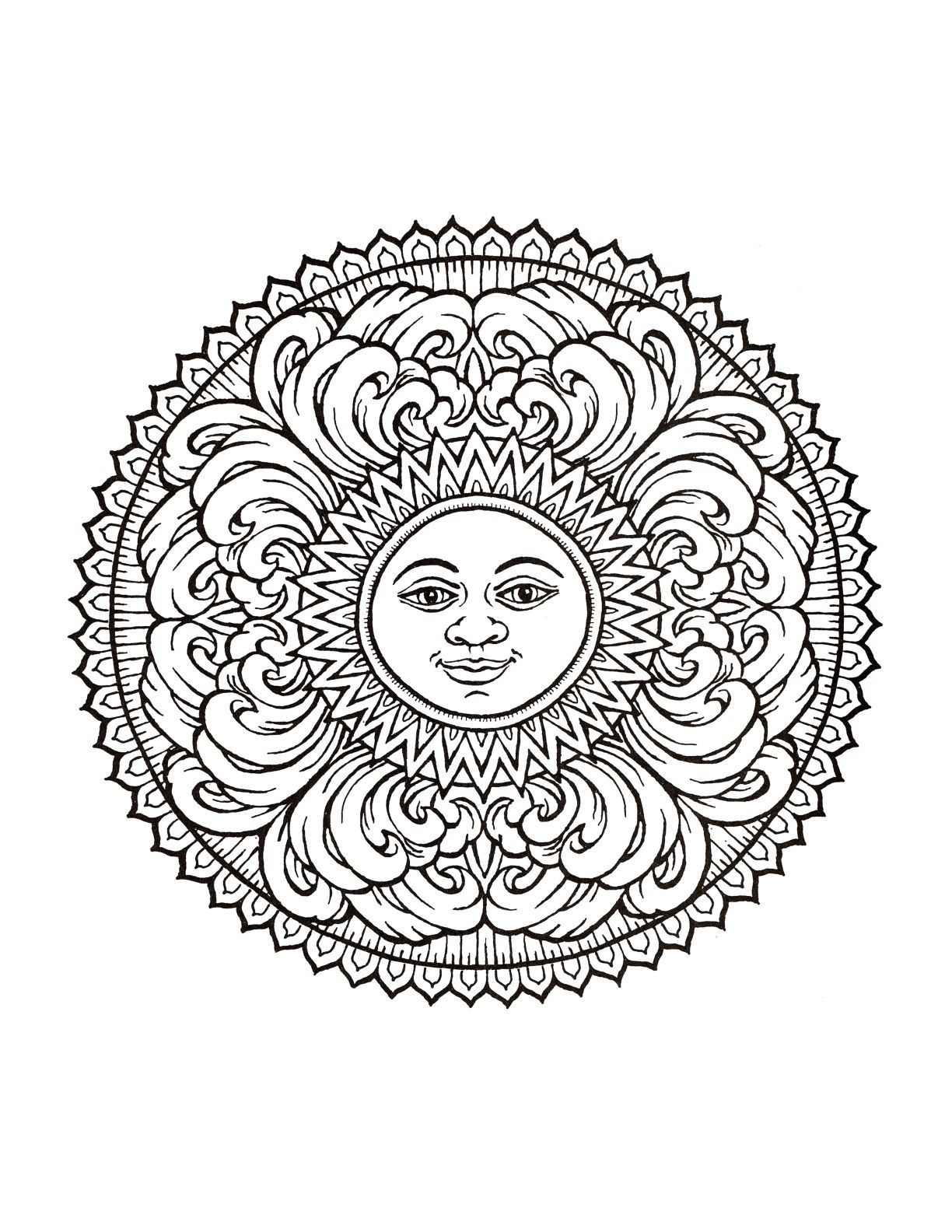 Advanced Coloring Pages for Adults | Coloring Pages Adult
