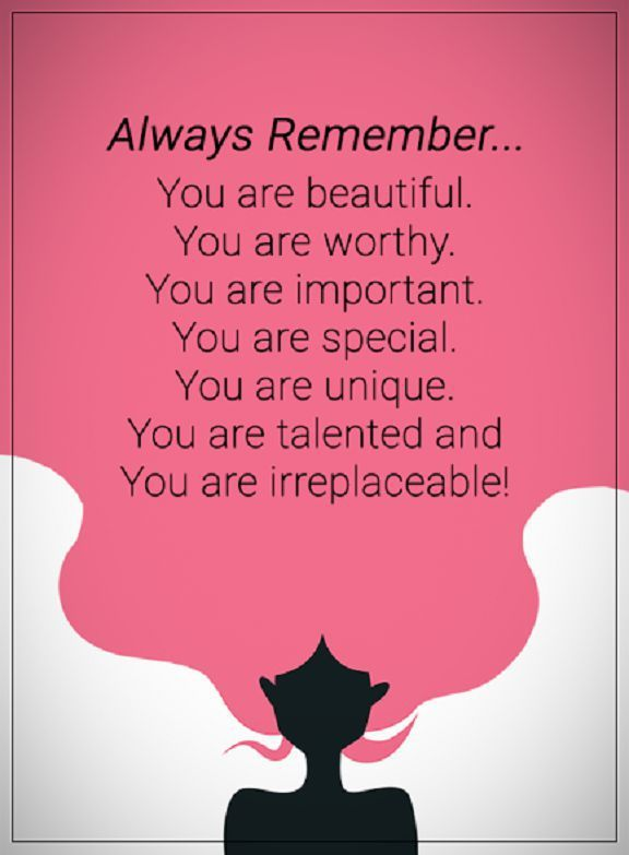 Inspirational Quotes About Life Always Remember You Are Unique