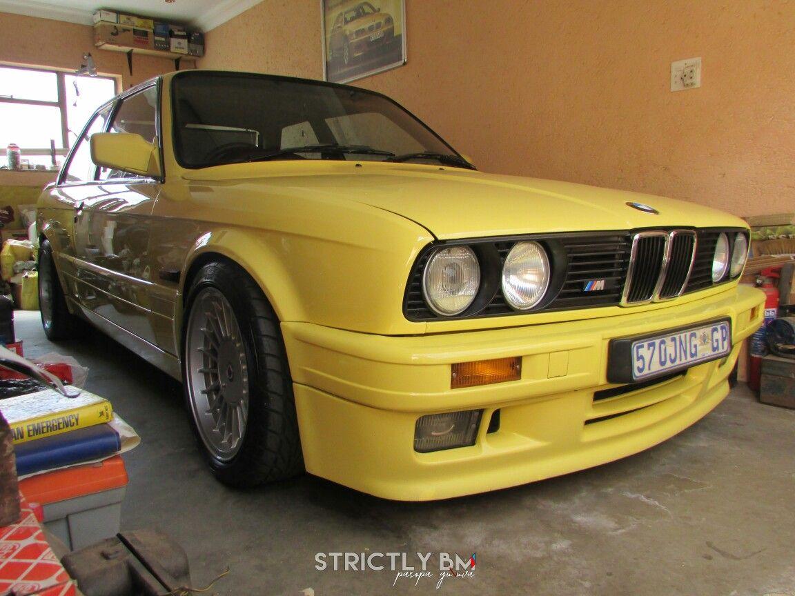 E30 Bmw 325is Evo2 Mtechnic Dakkar Yellow 325is Bmw E30 Bmw E30