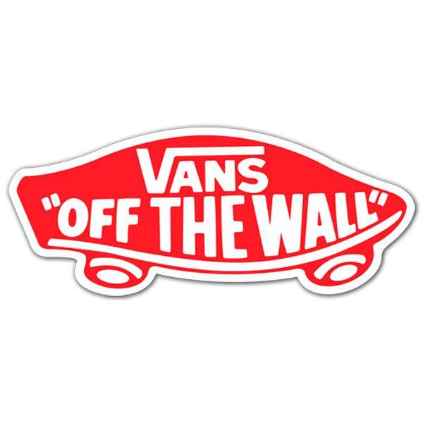 stickers vans pour skate