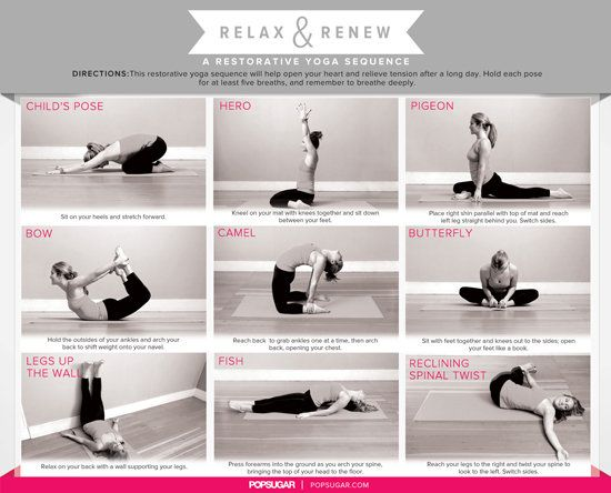 Take The Edge Off A Restorative Yoga Sequence For Relaxation Restorative Yoga Sequence Restorative Yoga Relaxing Yoga