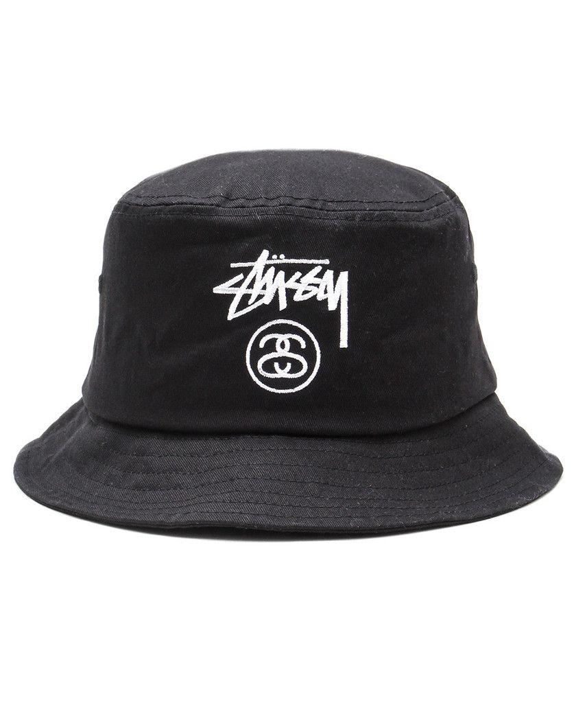 b69bce37 Stussy - Stock Lock Bucket Hat (Black) | Accessories - March 2015 ...