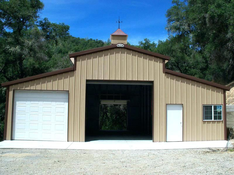 Garage With Living Quarters Metal Barn Apartment For Sale