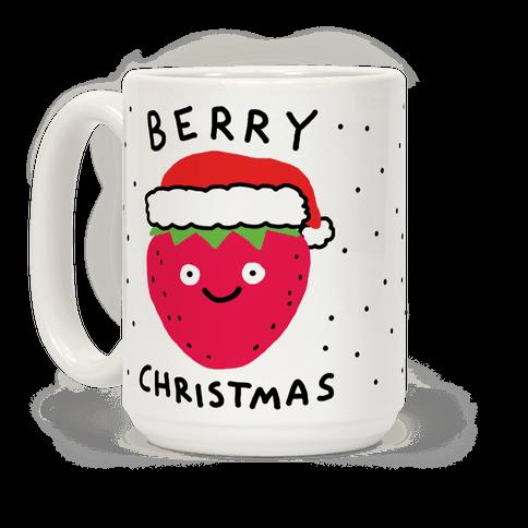 Coffee Christmas Puns.Berry Christmas Coffee Mug Lookhuman Mugs Mugs