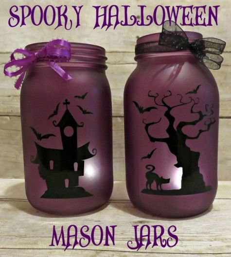 DIY Mason Jar Crafts #33 Mason Jar craft Ideas Even You Can Sell - halloween jar ideas