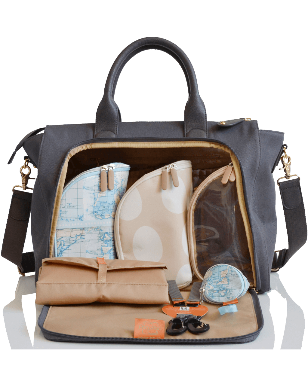 4b022674a5fdd Croyde - pewter Baby Changing Mat, Changing Bag, Traveling With Baby, Pewter