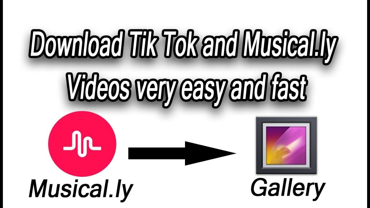 MUSICAL LY UPDATED TO TIK TOK   how to Download videos