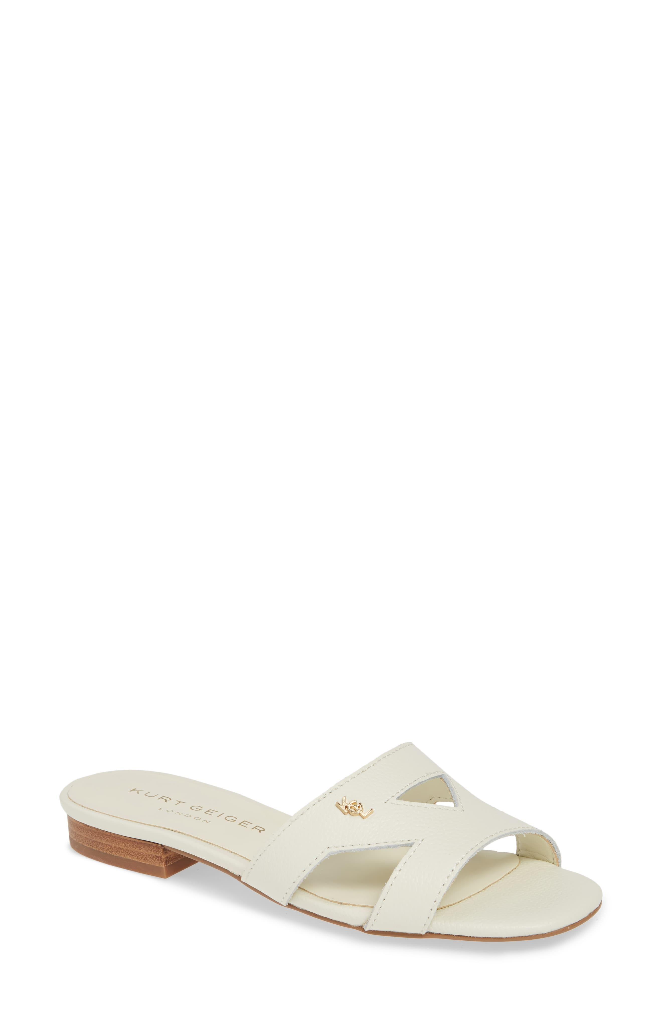 56bab909faf Women's Kurt Geiger London Odina Cutout Slide Sandal, Size 10 M ...