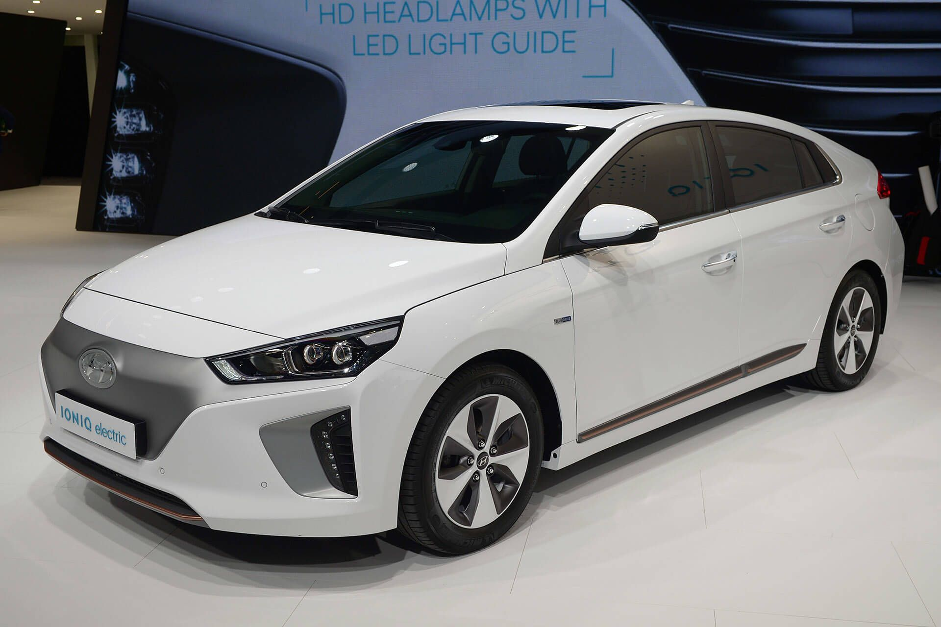 Hyundai Ioniq EV panned to go on sale in the US by the