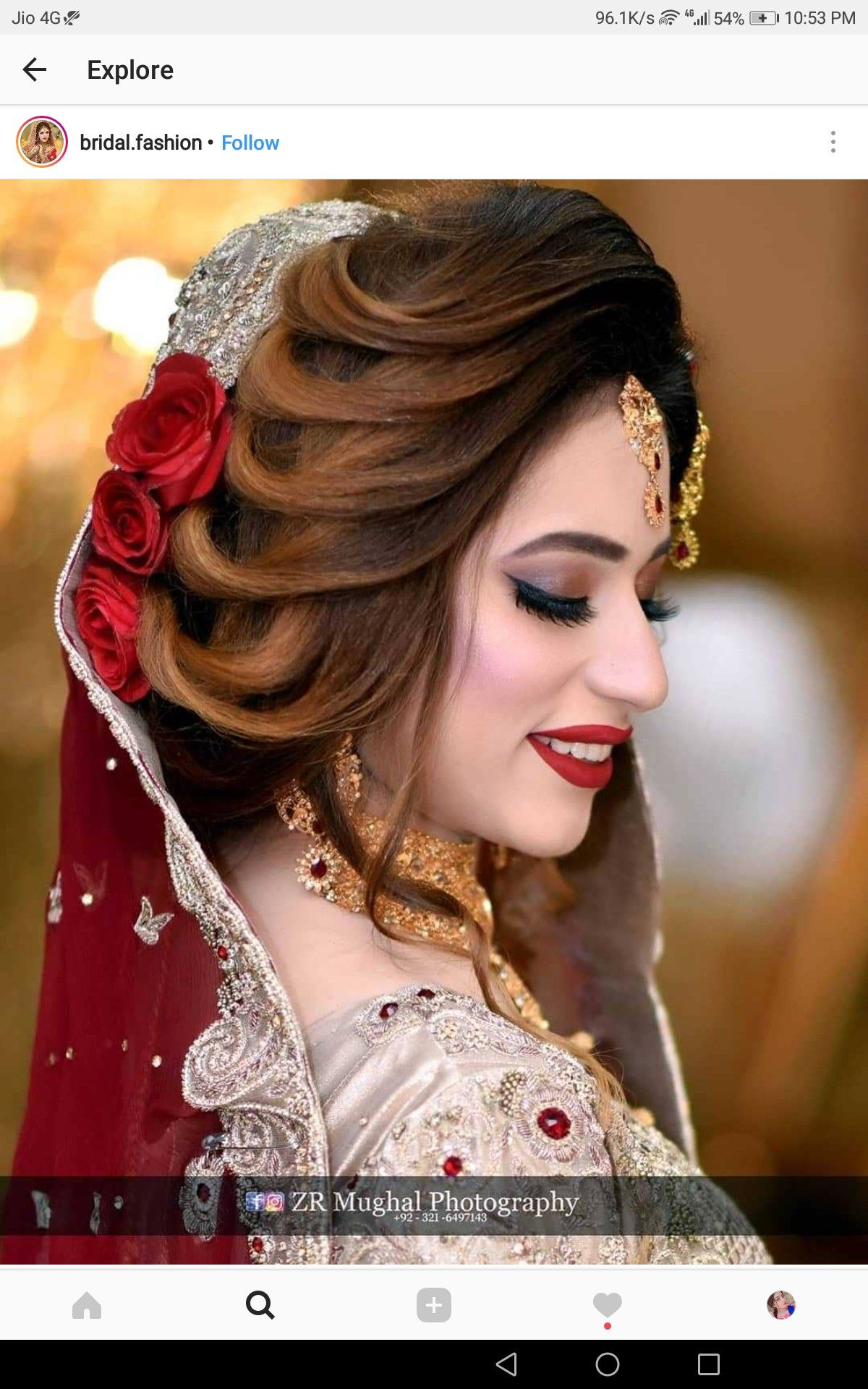 Pin by Sana Daud on Hair | Pakistani bridal hairstyles, Bridal hairstyle indian wedding ...