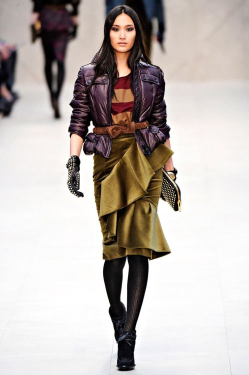 Burberry Prorsum ~ fall 2012