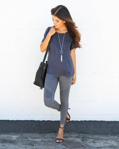dfc748ca3f04f7 Piper Jegging - Dark Grey in 2019 | Outfit Inspiration | Jeggings ...