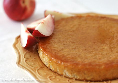 Rice Pudding Cake - a cross between a rice pudding and a flan! From Baking Obsession.