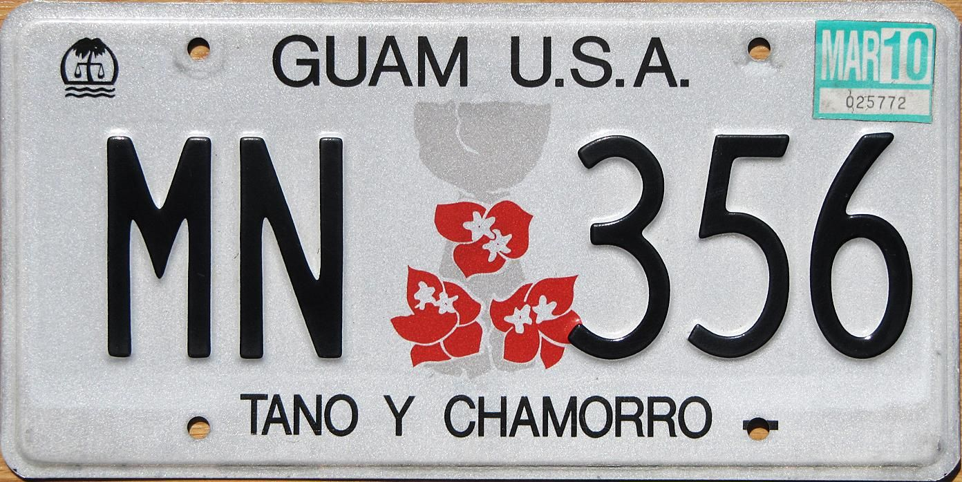 Pin by T Whiting on Other License Plates | Pinterest | Guam